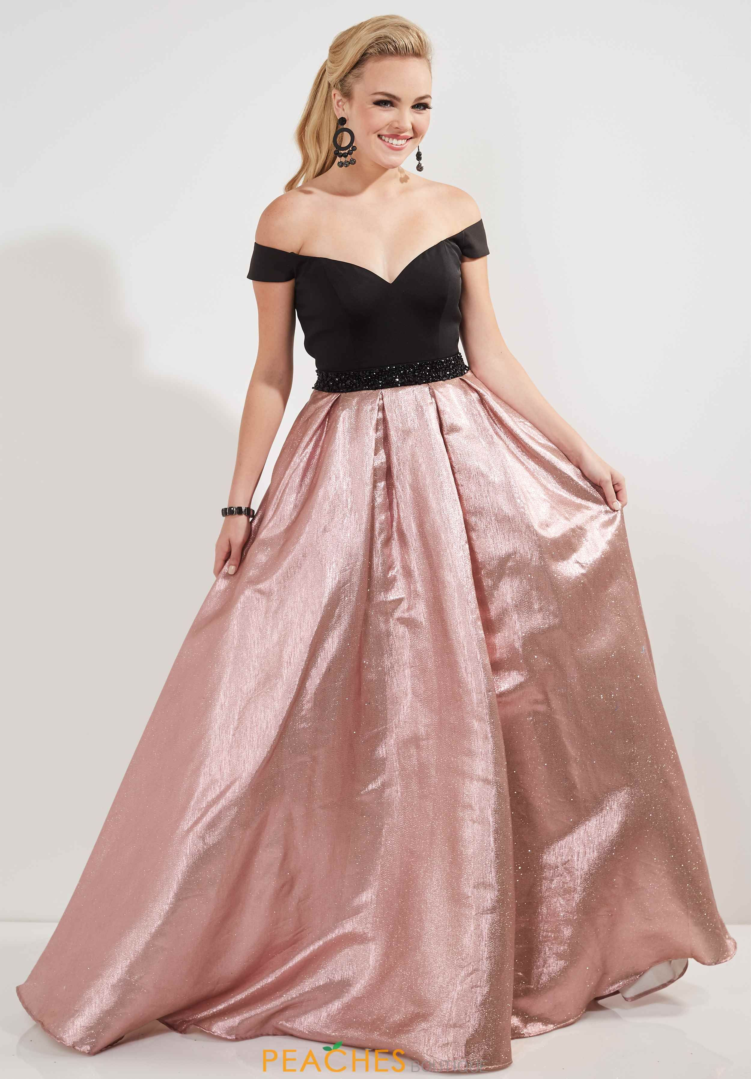 81e2950aa06 Pink Black White Prom Dress - Data Dynamic AG