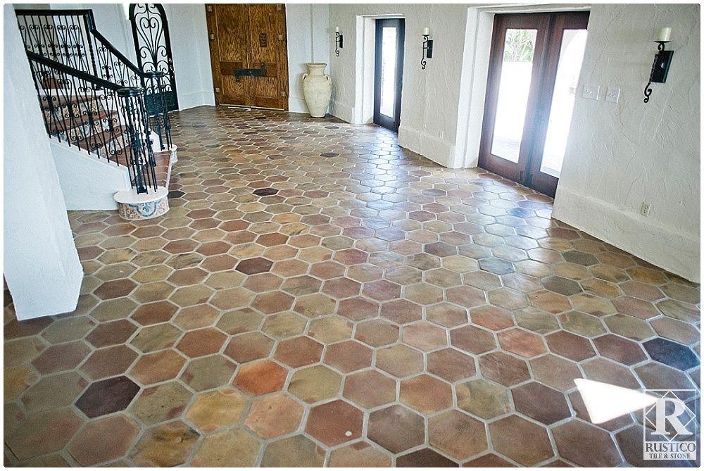 mexican tile floor saltillo tile
