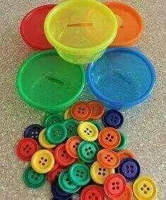 Colores juegos infantiles pinterest montessori for Craft ideas for autistic students