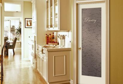 Jeld Wen S New Authentic Recipe Pantry Door Frosted Glass Pantry Door Doors Interior Pantry Door