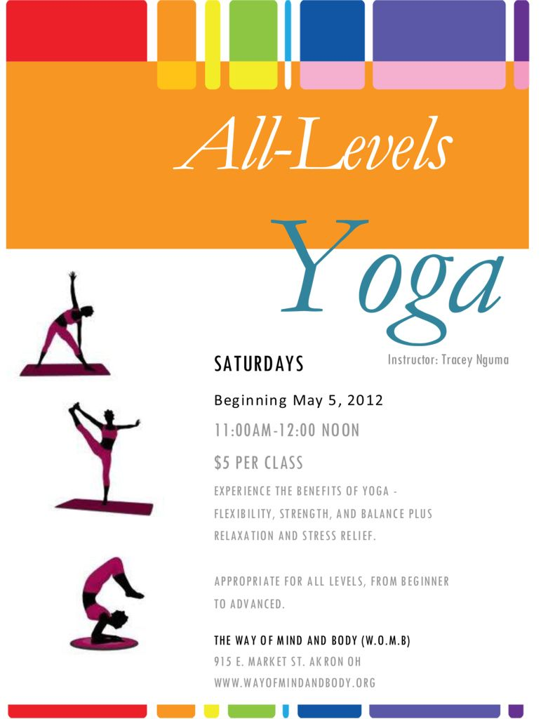 WOMB Yoga Flyer | Yoga | Pinterest | Yoga and Yoga inspiration