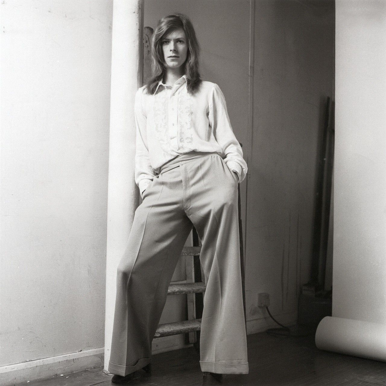 David Bowie 1971 David Bowie Long Hair David Bowie Starman David Bowie