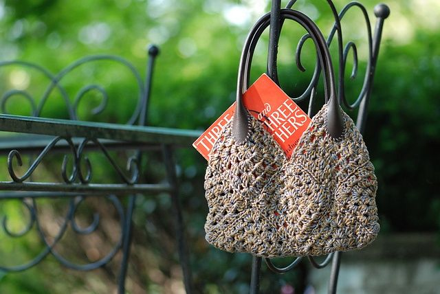Ravelry: Granny Square Purse pattern by Susan Mills.