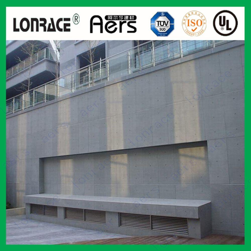 Cementitious Fiber Cement Board Exterior Wall Cladding