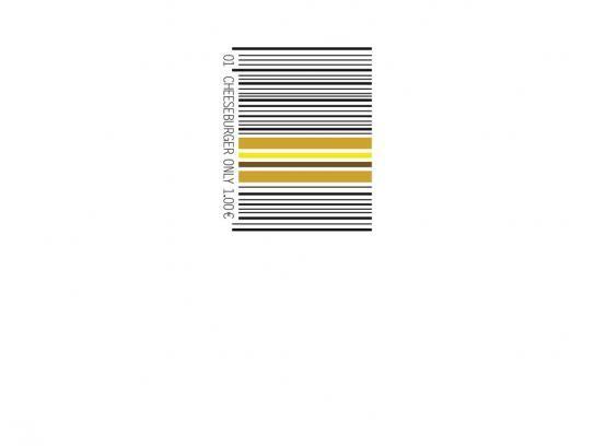 McDonald's:  Barcode Cheeseburger