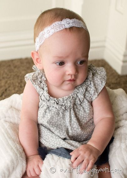 abd448c8f7747 diy baby headbands. Just stretchy ribbon and hot glue! Can make bows and  flowers to attach.