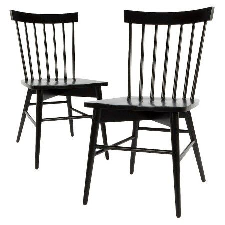 Windsor Dining Chair - Navy (Set of 2) - Threshold™ : Target (NOTE: comes in many different colors)
