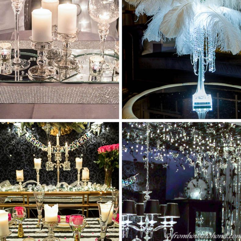 5 Glam New Year's Eve Party Themes | Elegant party themes ...
