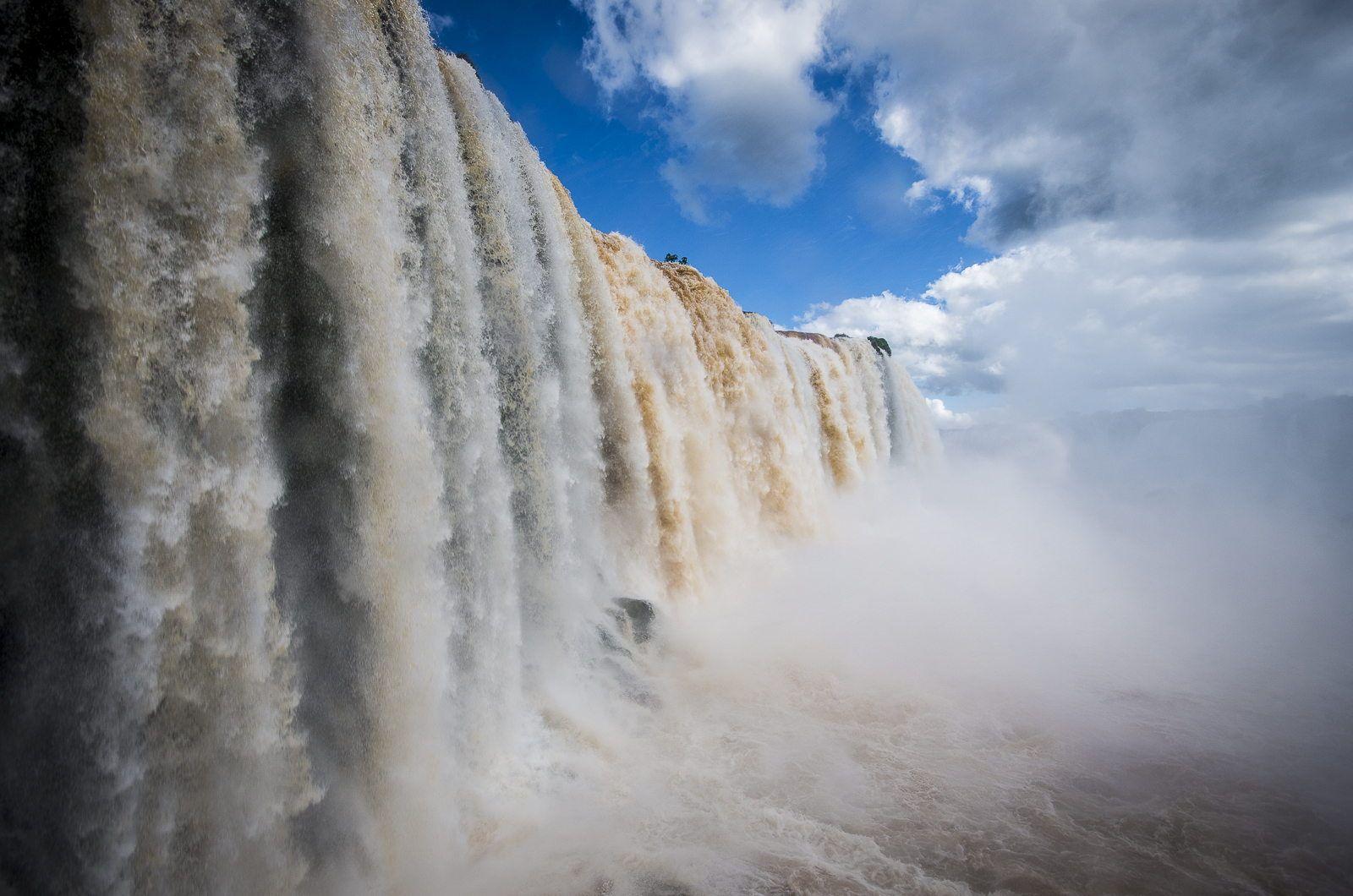 Fotografia Garganta do Diabo por Romain Bertucelli em 500px - Iguaçu - Brasil