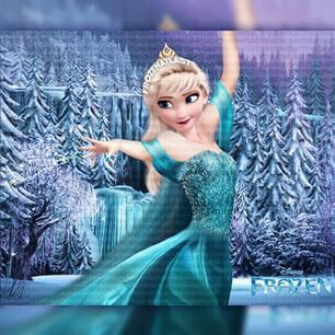 Elsa Lets Her Hair Down Disney Elsa Disney Adoption Queen Elsa