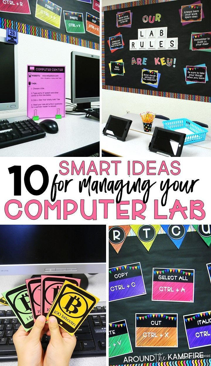 Manage Your Computer Lab Like A Boss! Classroom Management for Technology Teachers is part of Computer lab classroom - Smart school computer lab management tips for technology teachers and classroom teachers that spend time in their school computer lab