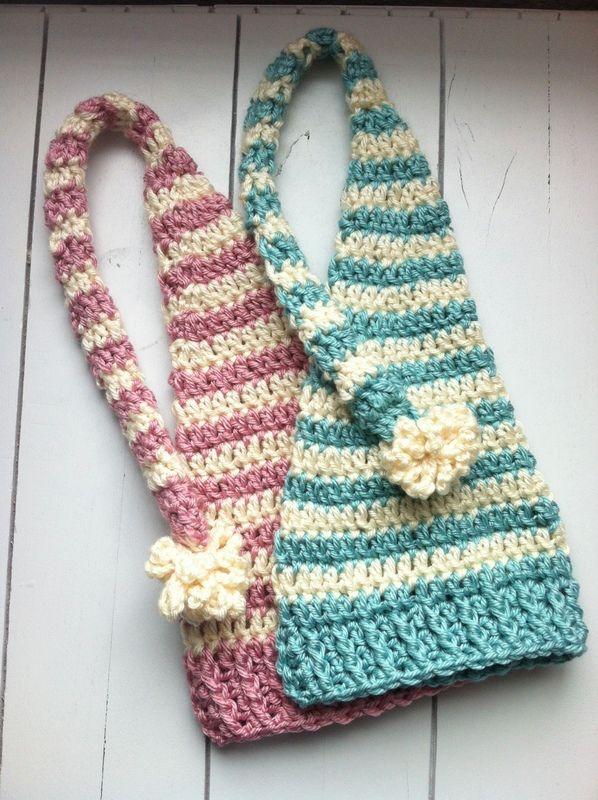 Baby Beanies - Holiday Elf Hats   Crochet   Pinterest   Gorros ...