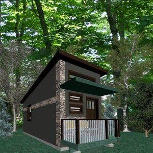 Tiny House Project Backyard Victorian Cottage