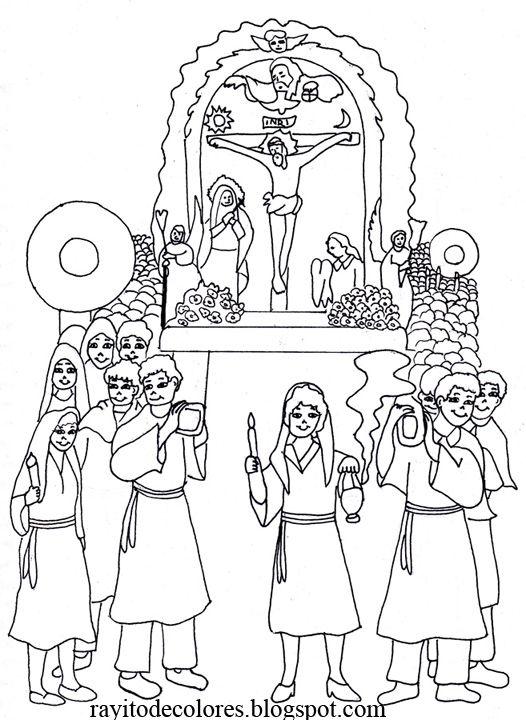 historia del señor de los milagros para niños de inicial - Buscar ...