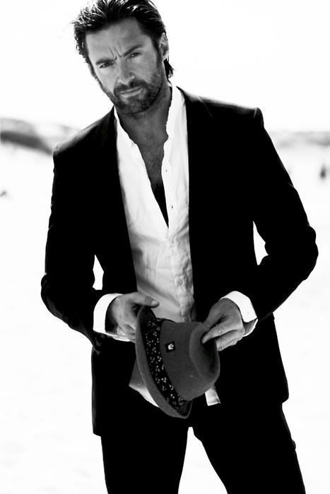 MXM MEN Men with Style ? Hugh JackmanI don't have a board for this, but I just had to pin. He is beautiful, so health and beauty it is.