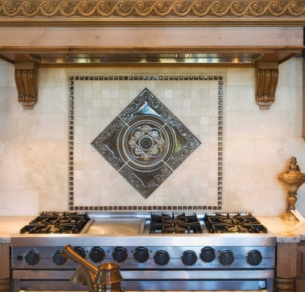 Like This One Sonoma Medallion Tile Stores Backsplash