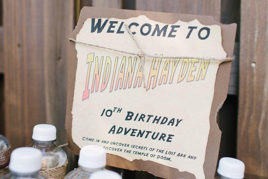 Indiana Jones Birthday Party Pizzazzerie Indiana