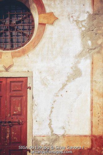Detail of a decayed church facade - #bookcovers #church #architecture #facade
