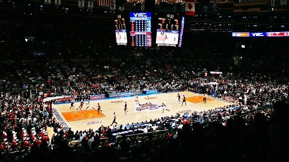 Madison Square Gardens In New York City The Mecca Of Basketball