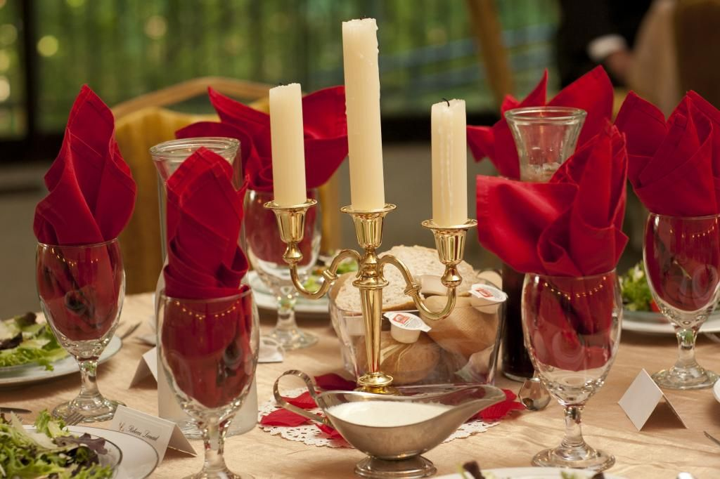 Lumiere Table Centerpiece And Setup Beauty And The Beast