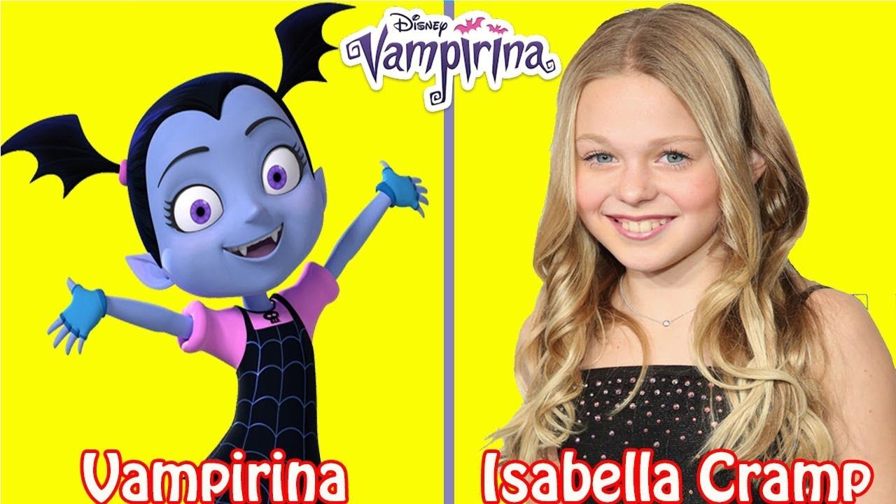 Vampirina Characters And Voice Actors Voice Actor The Voice Character
