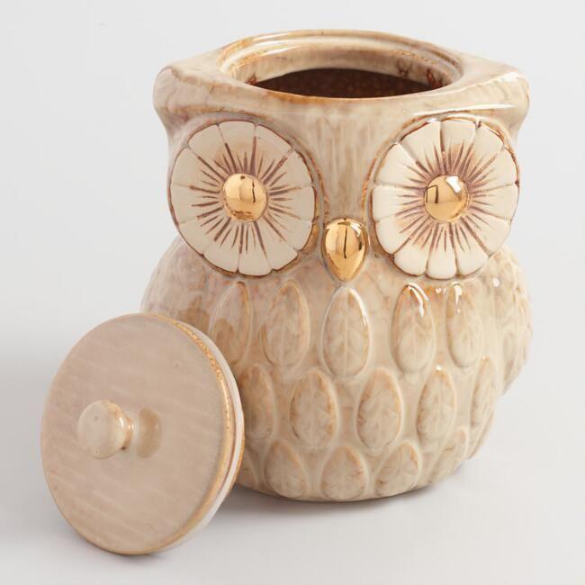 Owl Cookie Jar | Everything Owls | Pinterest | Eule