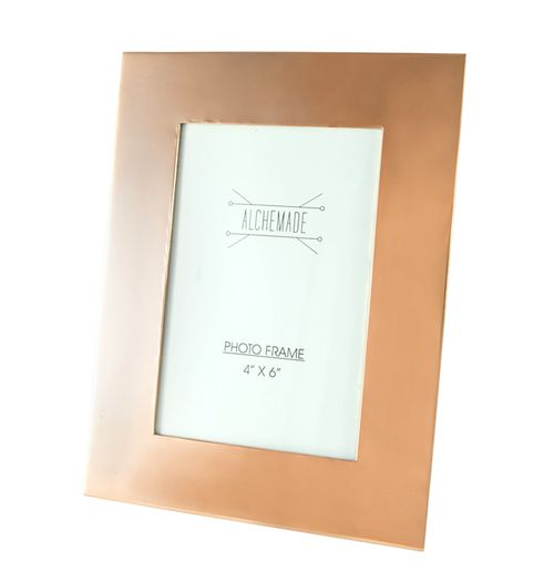 Buy Our 4x6 Inch Copper Picture Frame for $19.95. Our photo frame features a special protective coating to keep it looking great for many years to come.
