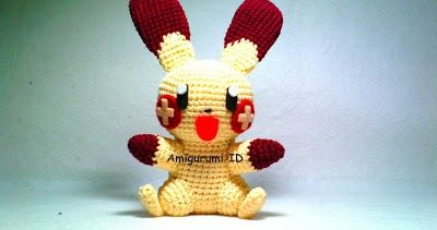 Amigurumi Pokemon Patterns Free : Amigurumi plusle pokemon free pattern free amigurumi patterns