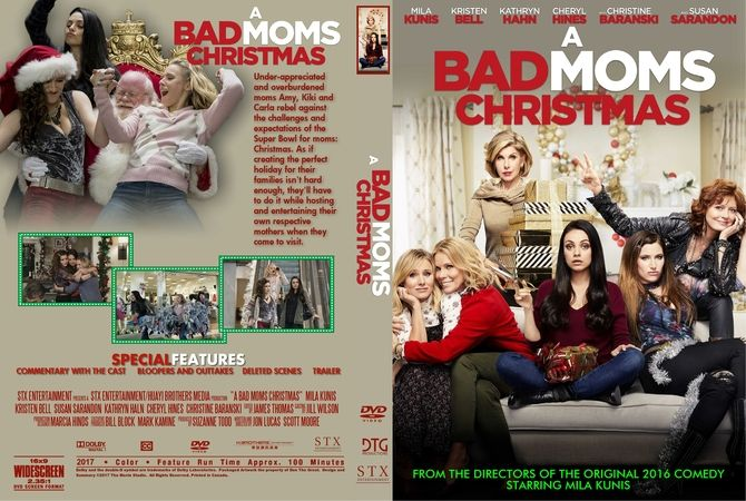 A Bad Moms Christmas Dvd Cover.A Bad Moms Christmas 2017 Dvd Custom Cover Custom Dvd