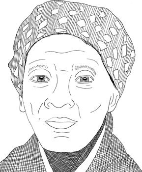 Harriet Tubman Do One Thing Heroes For A Better World Harriet Tubman History Theme Coloring Pages