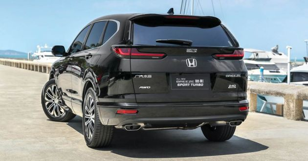 Honda Breeze introduced in China - restyled CR-V with Accord face; 1.5T and i-MMD hybrid; from ...