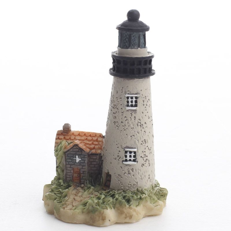 Miniature Lighthouse Fairy Garden Miniatures Dollhouse
