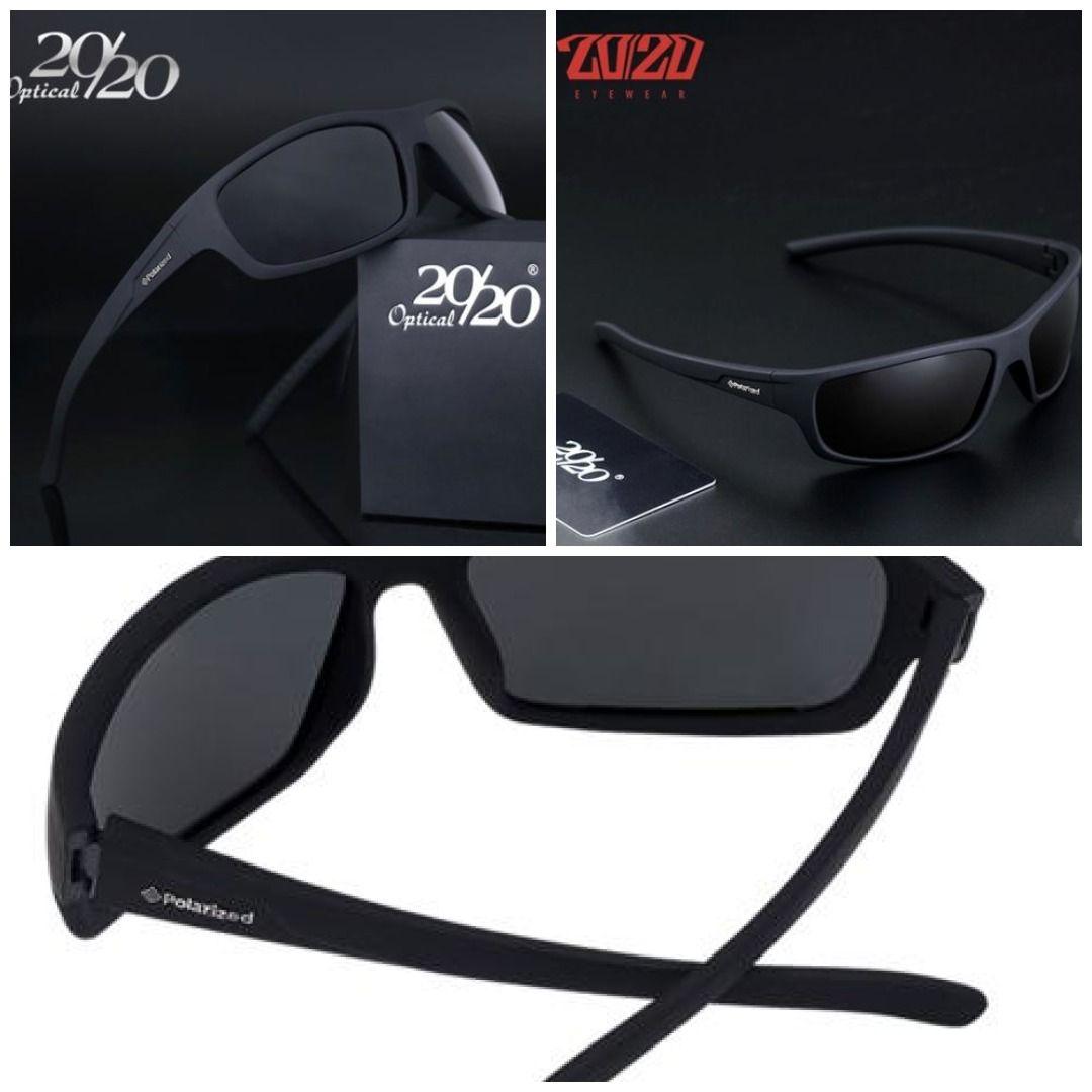 20//20 Polarized Sunglasses Men Brand Designer Blue Lens Sun Glasses Men Class...