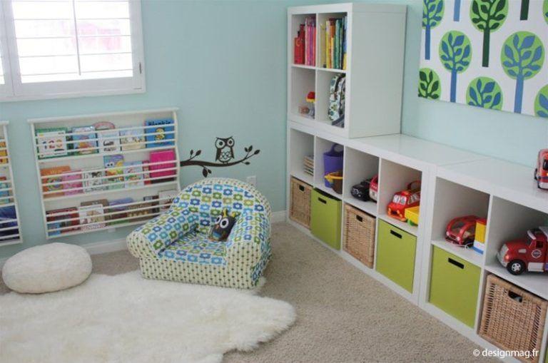 Rangement chambre enfant : + 60 conseils et idées pour bien ranger