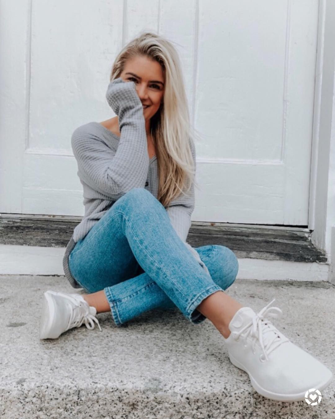Cute girl poses