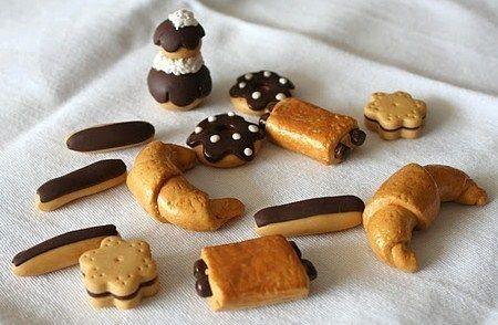Faire Des Viennoiseries En Pâte Fimo Les Tutos Miniature Food