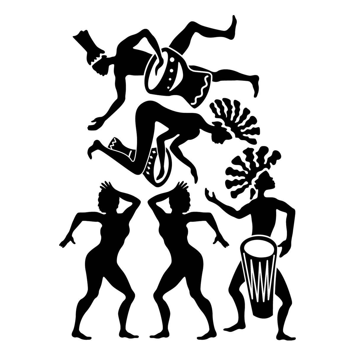 African Silhouette Pictures To Pin