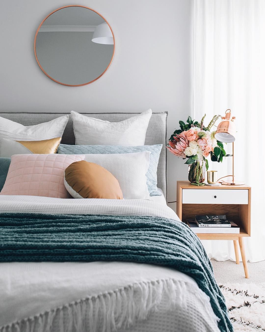 schlafzimmer deko in pastell diy deko modern bedroom in 2019 rh pinterest com