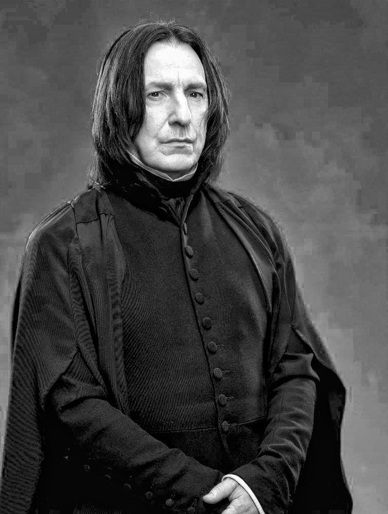 Alan Rickman, Snape