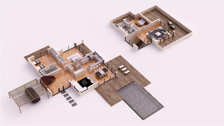 TENERIFE 300M2 CASAS DE DISEÑO DONACASA Pinterest Tenerife and - plan maison plain pied 80m2