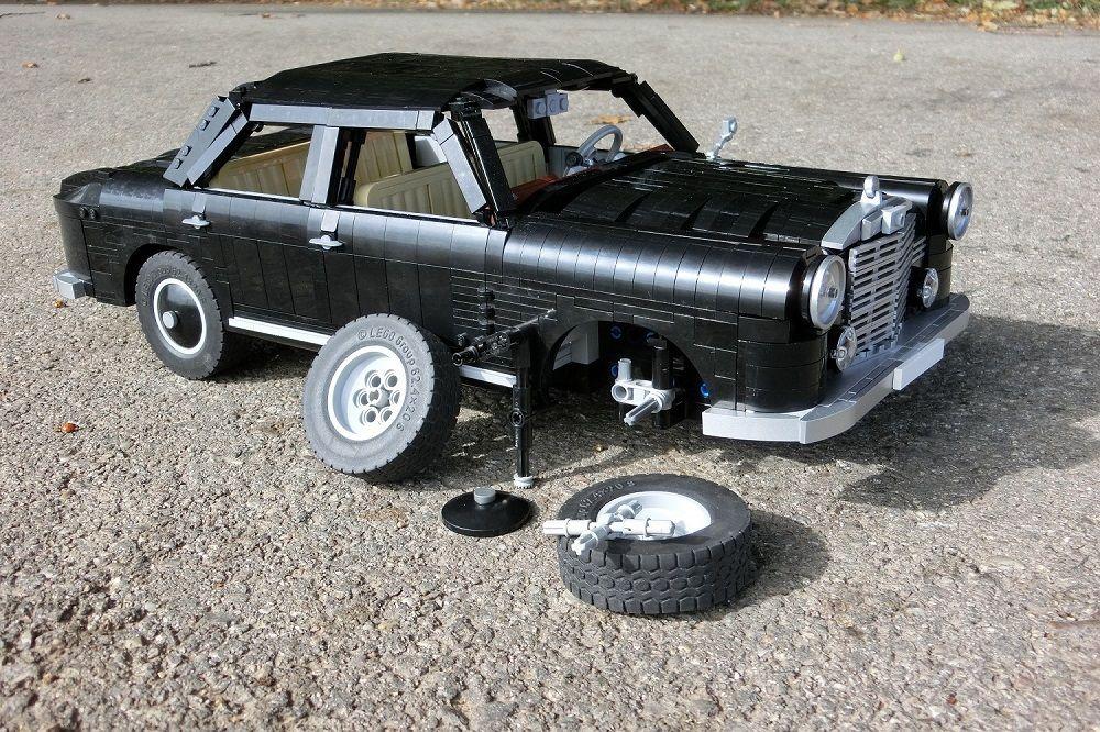 lego mercedes benz 180 ponton reparatur lego cars. Black Bedroom Furniture Sets. Home Design Ideas