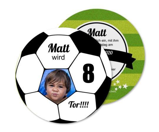 Einladung Kindergeburtstag Fussballspiel Kindergeburtstag Fussball