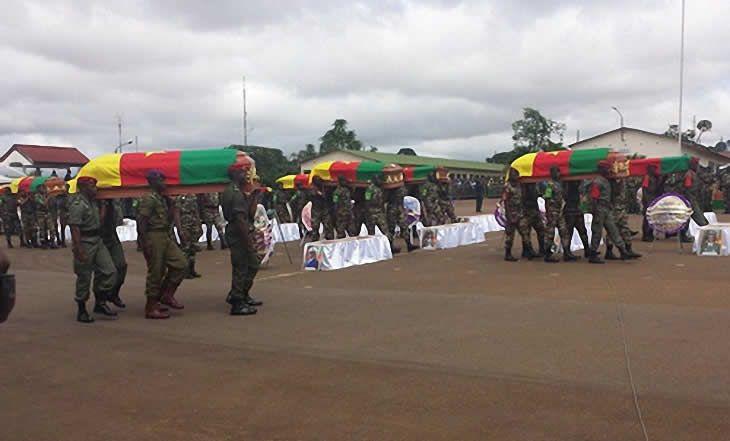 Cameroun : Trente-neuf corps de soldats victimes de Boko Haram remis à leurs familles - 07/03/2015 - http://www.camerpost.com/cameroun-trente-neuf-corps-de-soldats-victimes-de-boko-haram-remis-a-leurs-familles-07032015/?utm_source=PN&utm_medium=CAMER+POST&utm_campaign=SNAP%2Bfrom%2BCamer+Post