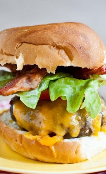 The All American Classic Bacon Cheese Burger