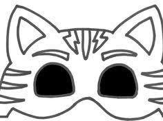 resultado de imagem para pj masks owlette mask template mαρια