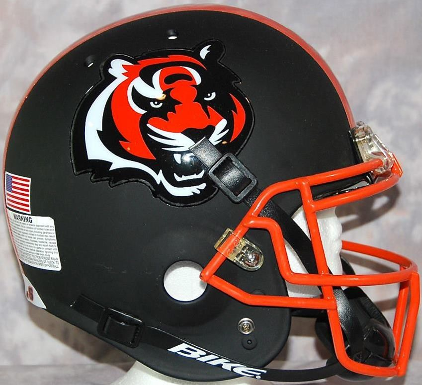 Sports Football Cincinnati Bengals Alternate Helmet Football