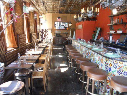 Catfish Restaurant \ Bar - 1433 Bedford Ave Crown Heights Interior - new blueprint brooklyn menu