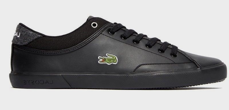 Lacoste Schuhe Sneaker 417 Schwarz Turnschuhe Angha 417 Misano Chaymon Herren Lacoste Schuhe Schwarze Turnschuhe Turnschuhe