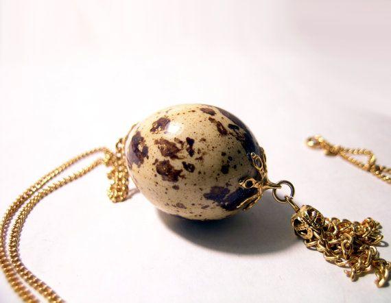 Vintage  Easter Egg Dye Box Art  Handmade Glass Tile Pendant Necklace