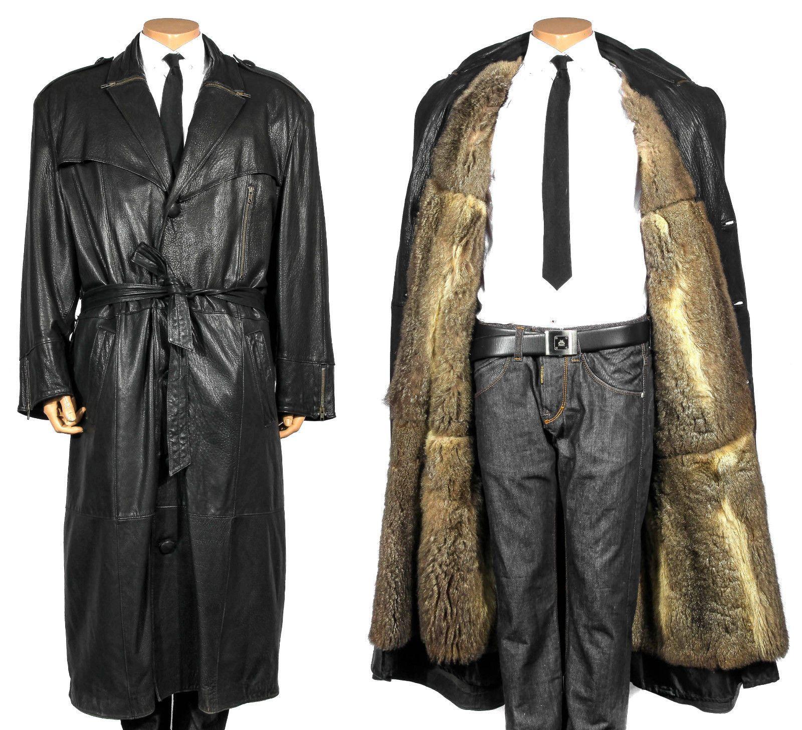 L XL Ledermantel Trenchcoat Leder Herren Mantel OPOSSUM Pelzmantel Fur men  coat in Kleidung   Accessoires, Herrenmode, Jacken   Mäntel   eBay! 191ee39938